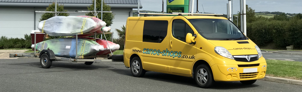 UK Kayak & Canoe Deliveries By The Canoe Shops Group