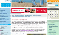 East Sussex Canoe Centre