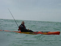 Luke T Kayak Fishing Angling Brighton Pier