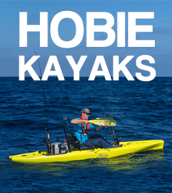 Hobie Mirage Drive Kayak Range at Brighton Canoes