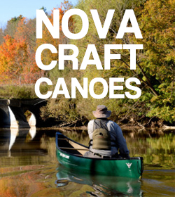 Nova Craft Canoes Range at Brighton Canoes