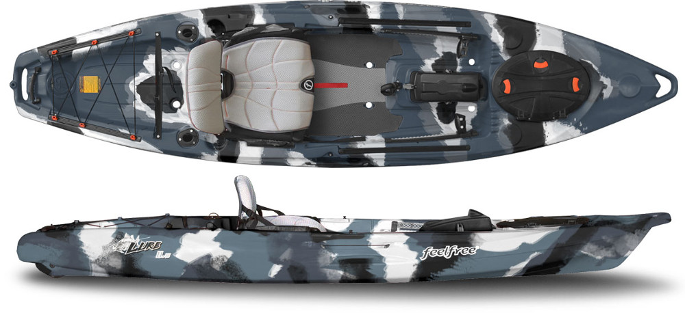 complete kit with fittings Feel Free Oval Hinge Hatch for Sit on Top Kayaks