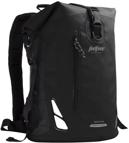 FeelFree Metro Dry Bag - 15L   25L - Black 166d14199873e