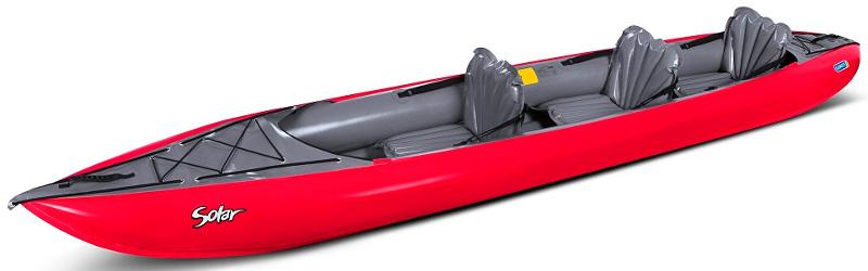 Gumotex Solar 3 2017 | 3 Person Inflatable Kayak