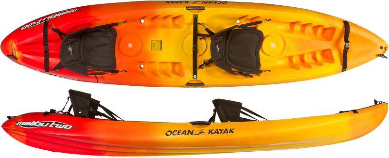 Ocean Kayak Malibu Two - Tandem Sit On Top Kayaks