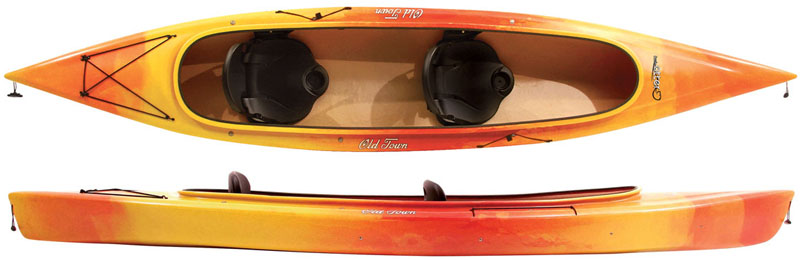 Old Town Twin Otter Double Tandem Open Cockpit Kayak