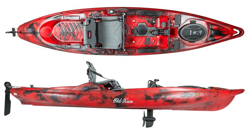 Old Town Predator PDL   Fishing Kayaks