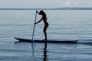Stand-Up SUP Board - Paddles