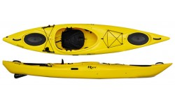 Riot Enduro 12 touring kayak with skeg