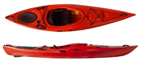 Riot Edge 11 touring kayak with skeg
