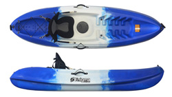 Enigma Kayaks Flow Budget 1 Person Sit On Top Kayak Package Deal