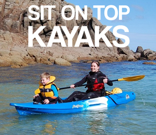 Shop Sit On Top Kayaks at Brighton Canoes